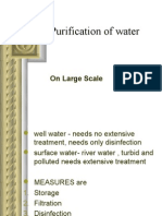 Purification Water-large Scale