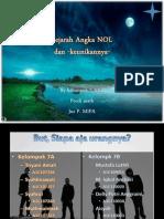 Sejarah Angka NOL