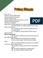 Proiect Educatie Civica Mik