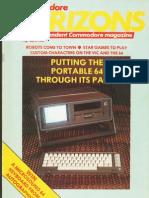 Commodore Horizons Issue 03 1984 Mar