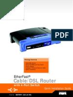 BEFSR41-EU V4 Quick Install Guides Rev NC Web