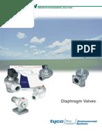 Válvulas Diafragma GOYEN (Autolimpieza Turbinas)
