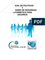 Manual de Politicas y Seguridad Informatica