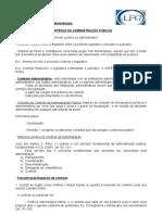 5 - Administrativo - Aula 15.11.09 - Controle da Administração