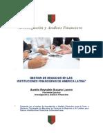 GESTION DE NEGOCIOS EN LAS  INSTITUCIONES FINANCIERAS DE AMERICA LATINA