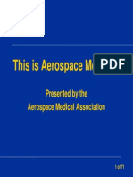 This is Aerospace Medicine
