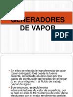Clase 1 Generador de Vapor