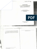 Sazbón, José - Saussure y Los Fundamentos de La Lingüística (Introducción)