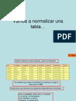 Ejemplo Normalizacion