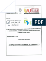 3) Fire Alarm System Documents