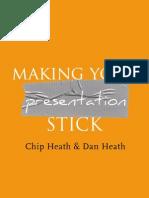 Making Presentations That Stick