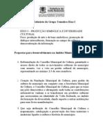 1 CMC - Relatorios Dos Grupos Tematicos