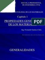 Cap 1 - Los Materiales