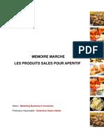 Rapport mémoire marché PSA