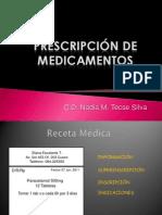 PRESCRIPC. odontopediatria