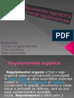 Regulamente Organice