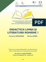 I Florentina Samihaian Didactica Limbii Si Literaturii Romane 1