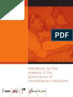 Handbook Governance