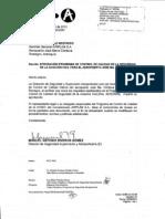 Programa de Control de Calidad de La Seguridad de La Aviacion Civil Para El Aeropuerto Jose Maria Cordova