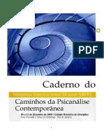 simposio+psicoanalisis y trangeneracional