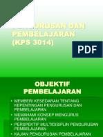 k3 Kajian Pengurusan Dan Pembelajaran