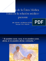 1- Historia de La Etica Medica