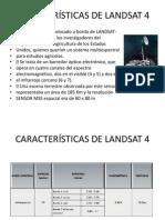 Características de Landsat 4