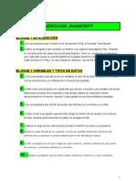 Ejercicios JavaScript - Documentos de Google