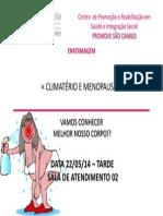 Folheto - CLIMATÉRIO
