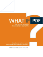 What if-Art of Scenario Thinking for NonProfits
