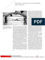 Palladio Costruttore 6 Tecnologia Edilizia e Organizzazione Del Cantiere Nella Milano Del Secondo Cinquecento