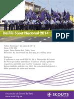Desfile Nacional 2014.Lima