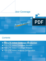 FDD LTE Indoor Coverage