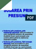 Sudare Prin Presiune