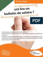 Lire Bulletin Salaire