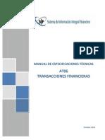Manual Especificaciones Tecnicas AT06 Transacciones Financieras v-2