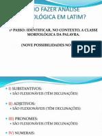 Como Fazer Analise Morfologica No Latim - Arquivo Inicial Novo