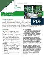 Constructing Garden Beds