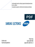 Manual Samsung Sg Hu 106