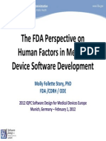 Human Factors in Medical Devices