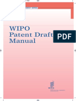 Wipo Patent Drafting Manual