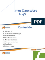 4G Plan Sostenibilidad