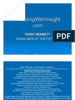 Terry Bennett Prophetic Headlines of the Future