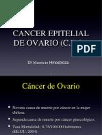 Cancer de Ovario, Dr. Hinostroza