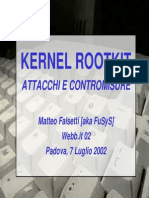 Kernel Rootkit