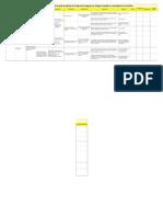 Matriz de Plan Para La Implementación 27 Feb 2013