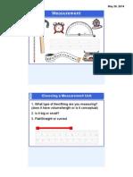 measurement perimeter area smart notes