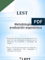 Metodologías de Evaluación Ergonómica