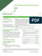 Paper 3 HL Economics Questions 27jfcf5