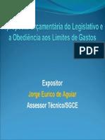 A Proposta Orçamentária Do Legislativo